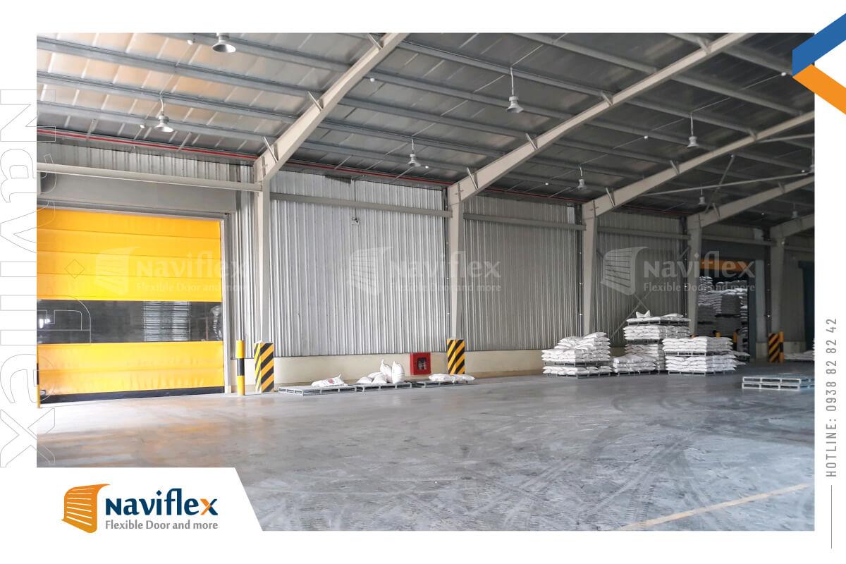 lắp đặt cửa cuốn nhanh tiêu chuẩn hsd01-nf tại Quảng Ninh